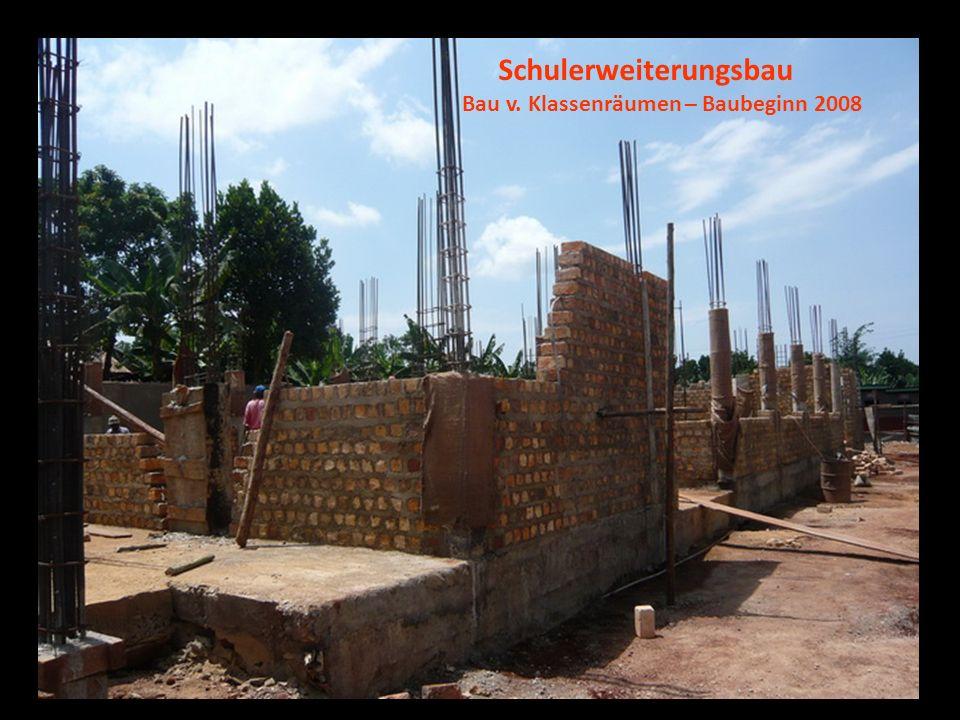 Schulerweiterungsbau Bau v. Klassenräumen – Baubeginn 2008