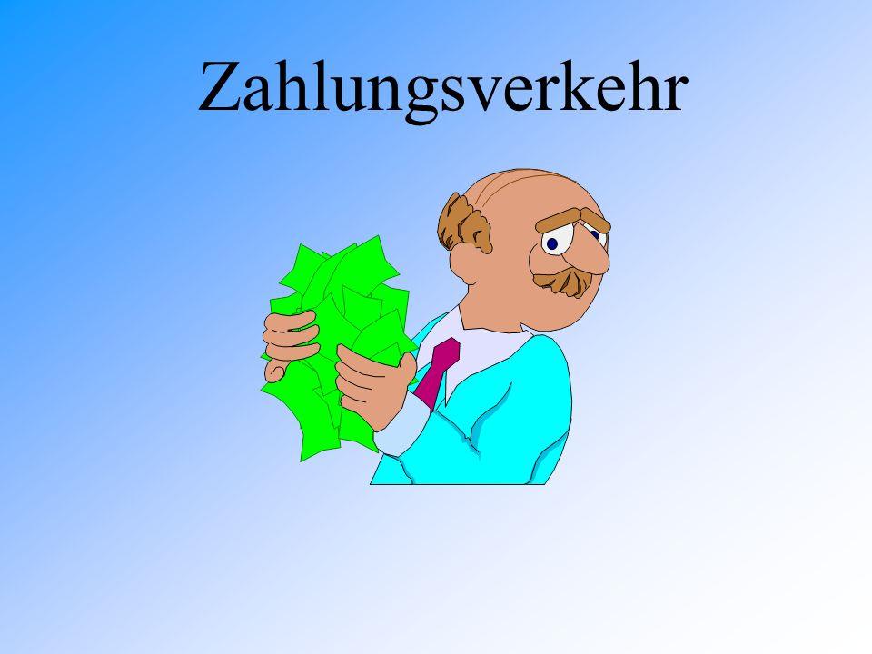 Zahlungsverkehr31 Wechsel - Übung 1 Die Kiosk GmbH hat zur Zeit kein Geld.