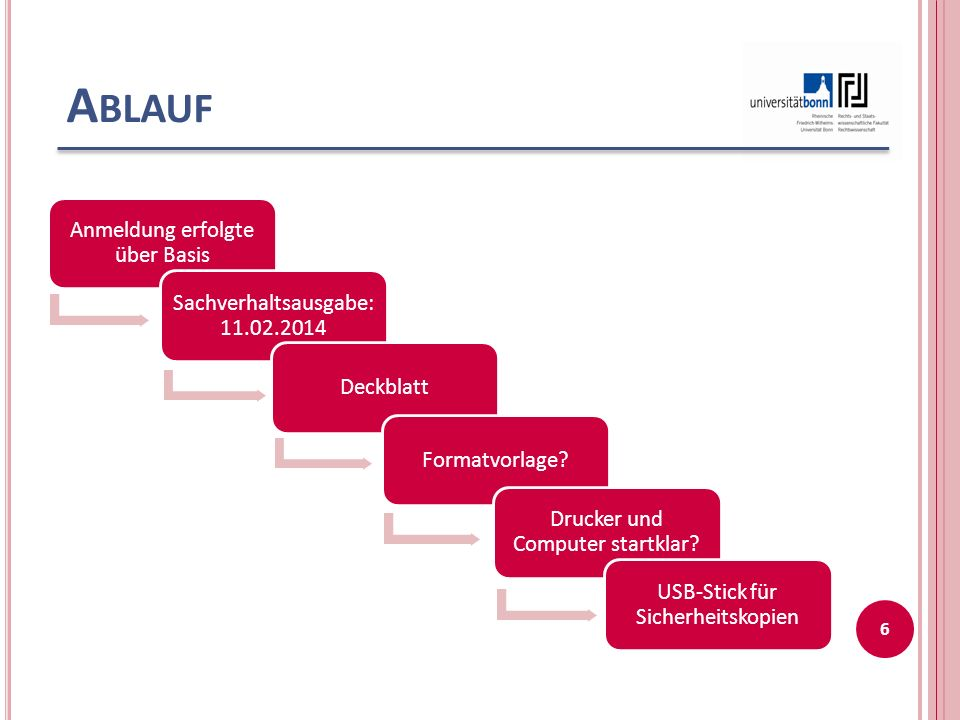 A BLAUF Anmeldung erfolgte über Basis Sachverhaltsausgabe: 11.02.2014 DeckblattFormatvorlage.