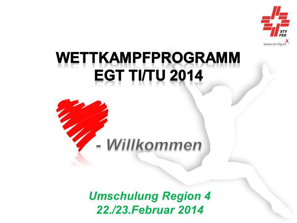 Umschulung Region 4 22./23.Februar 2014