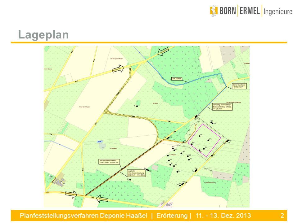 13 Planfeststellungsverfahren Deponie Haaßel | Erörterung | 11.