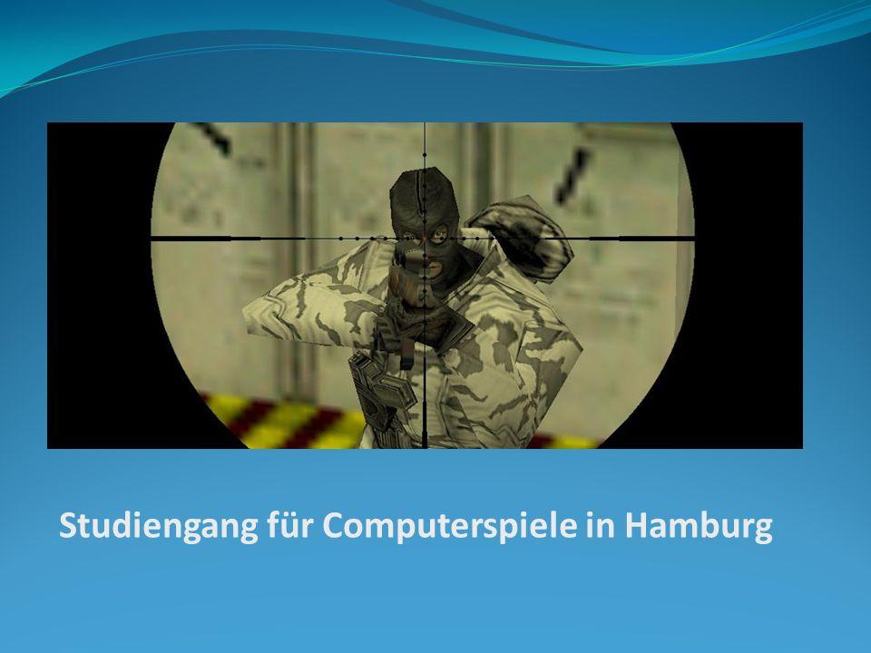 Studiengang für Computerspiele in Hamburg