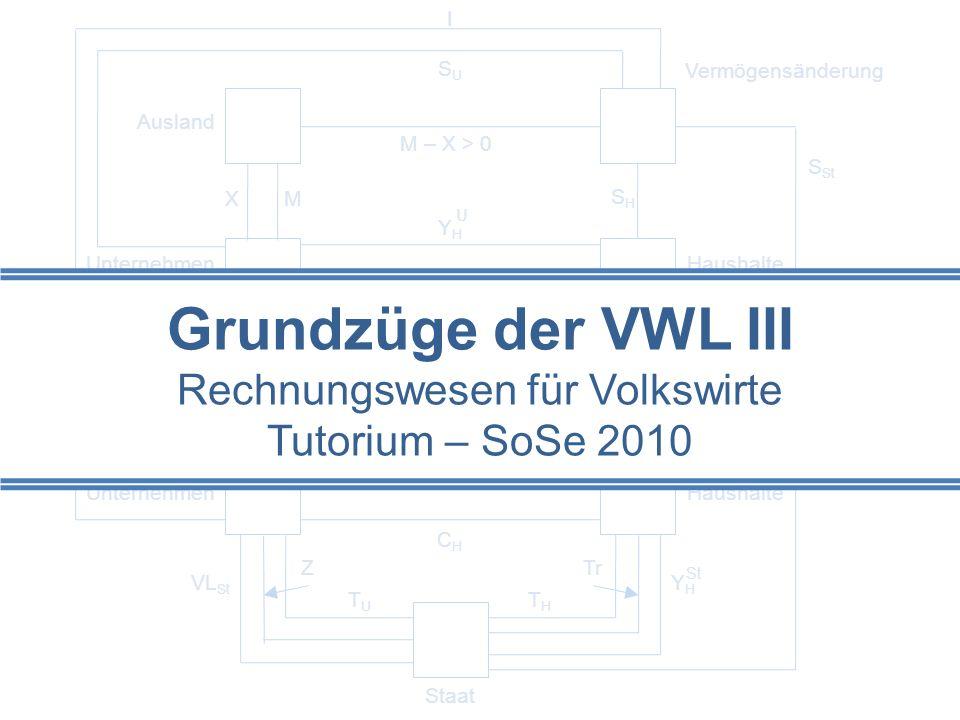 Hinweise 2Grundzüge der VWL III Lehrbücher: Hardes, H.-D.