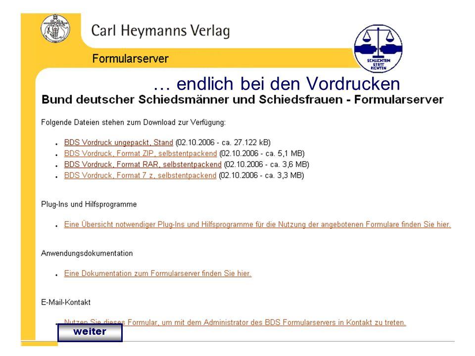 IT in der Bezirksvereinigung Bezirksvereinigung Frankfurt (Oder) IT-Verantwortlicher Klaus Kotschmar … endlich bei den Vordrucken weiter