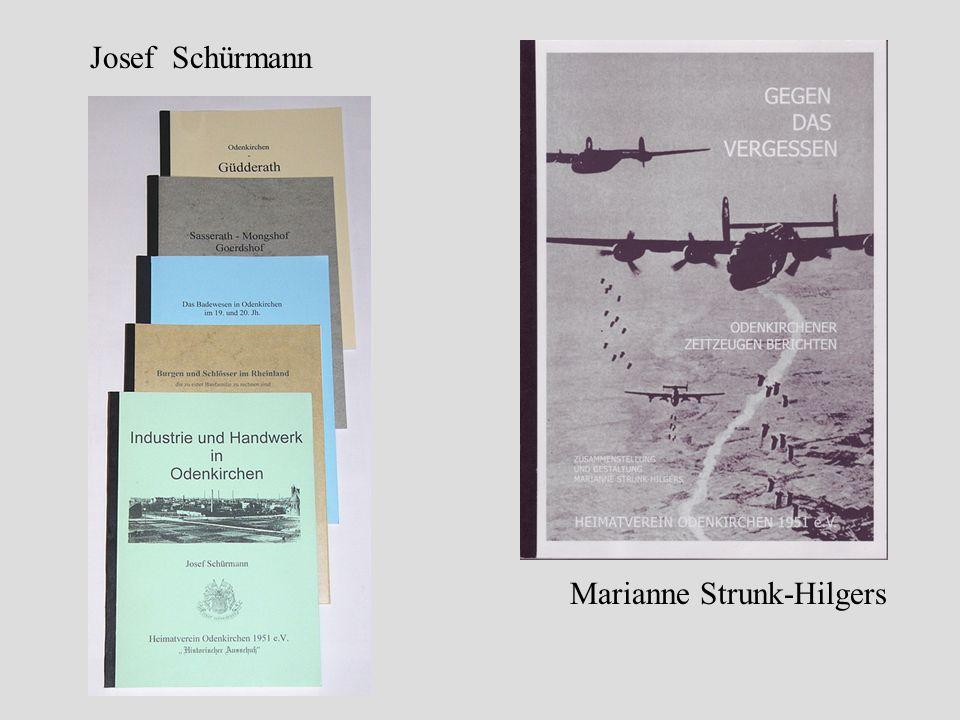 Marianne Strunk-Hilgers Josef Schürmann