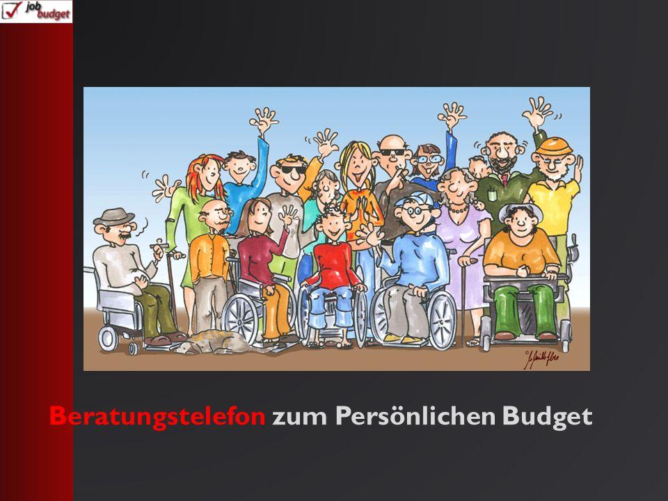 Beratungstelefon zum Persönlichen Budget