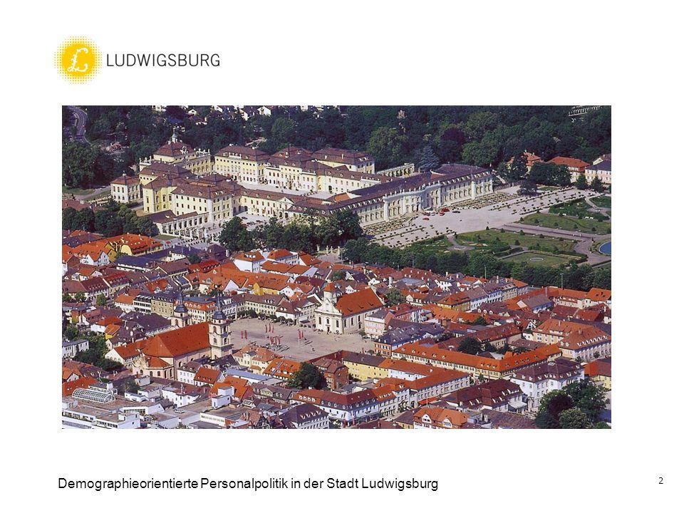 Demographieorientierte Personalpolitik in der Stadt Ludwigsburg 2