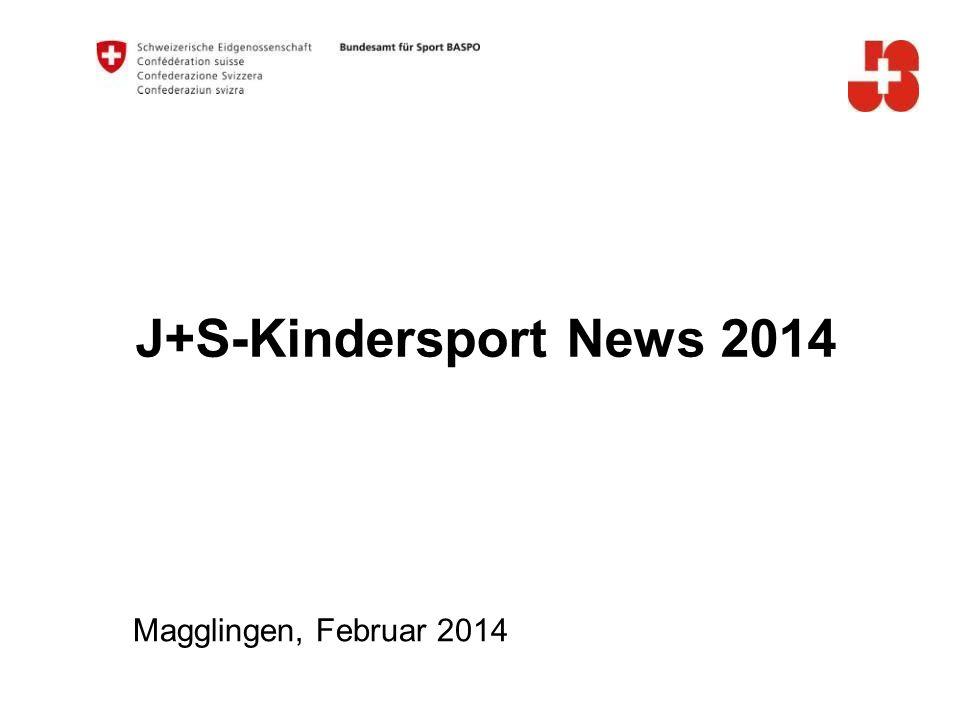 32 Bundesamt für Sport BASPO Jugend+Sport