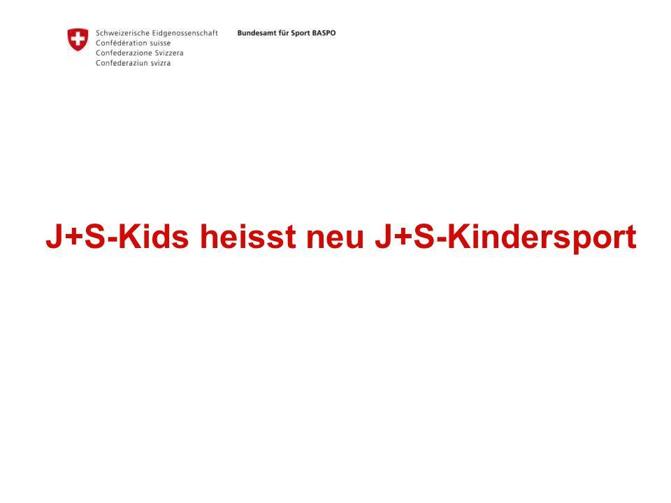 16 Bundesamt für Sport BASPO Jugend+Sport Gruppengrösse Für Angebote «Allround»: Mind.