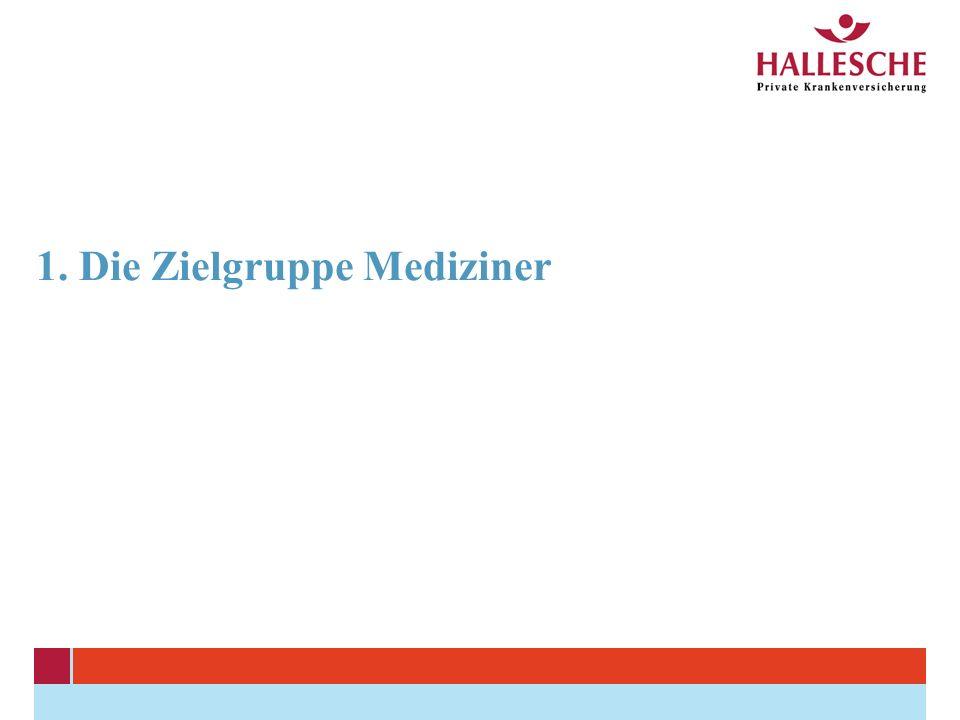 1. Die Zielgruppe Mediziner