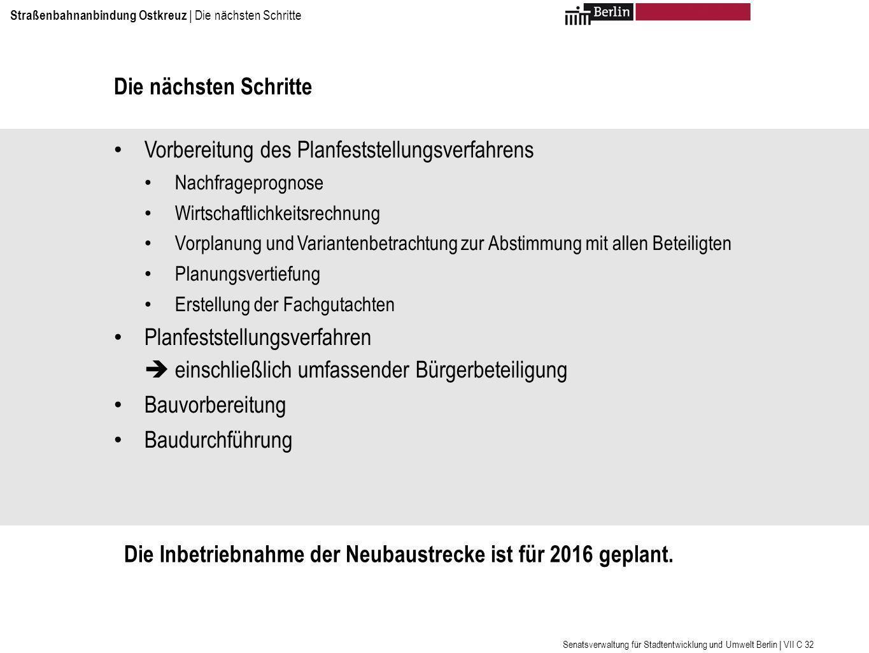 Vielen Dank für Ihre Aufmerksamkeit Weitere Informationen unter: www.stadtentwicklung.berlin.de
