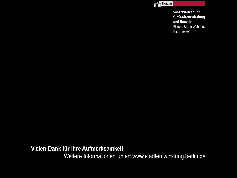 Straßenbahnanbindung Ostkreuz | Verteilung der prognostizierten Nachfrage Senatsverwaltung für Stadtentwicklung und Umwelt Berlin | VII C 32 Verteilung der prognostizierten Nachfrage