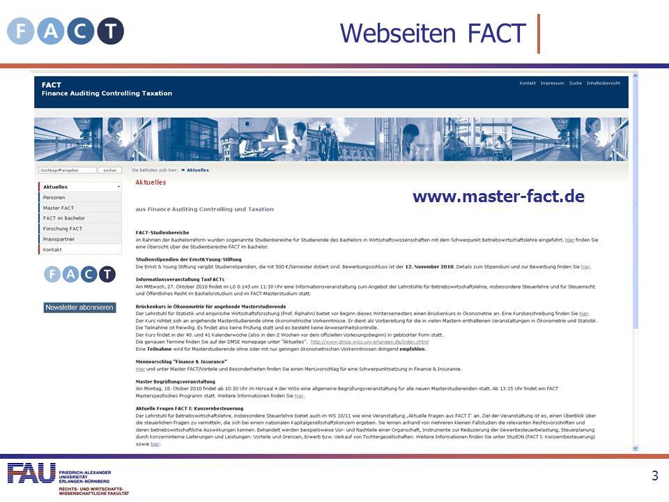 StudOn-System http://www.studon.uni-erlangen.de/studon/ Master-FACT Lehrstuhlübergreifende Gruppe: http://www.studon.uni-erlangen.de/crs173802.html BITTE ALLE BEITRETEN 4
