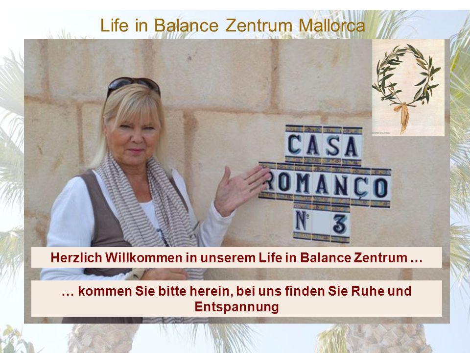 Life in Balance Zentrum Mallorca Übernachten Sie in unseren komfortablen, klimatisierten Gästezimmern Verbinden Sie einen Workshop mit einer Woche in unserer Villa mit allen Annehmlichkeiten