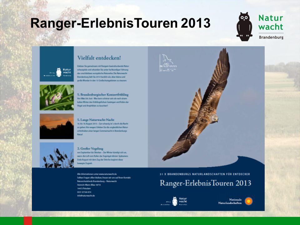 Ranger-ErlebnisTouren 2013