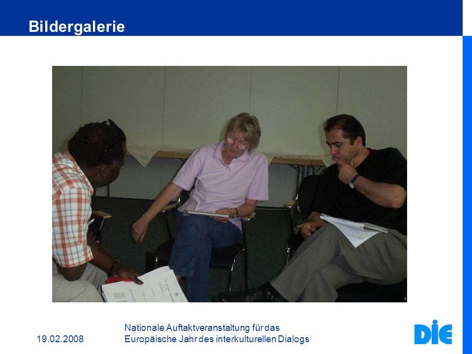 19.02.2008 Nationale Auftaktveranstaltung für das Europäische Jahr des interkulturellen Dialogs Bildergalerie