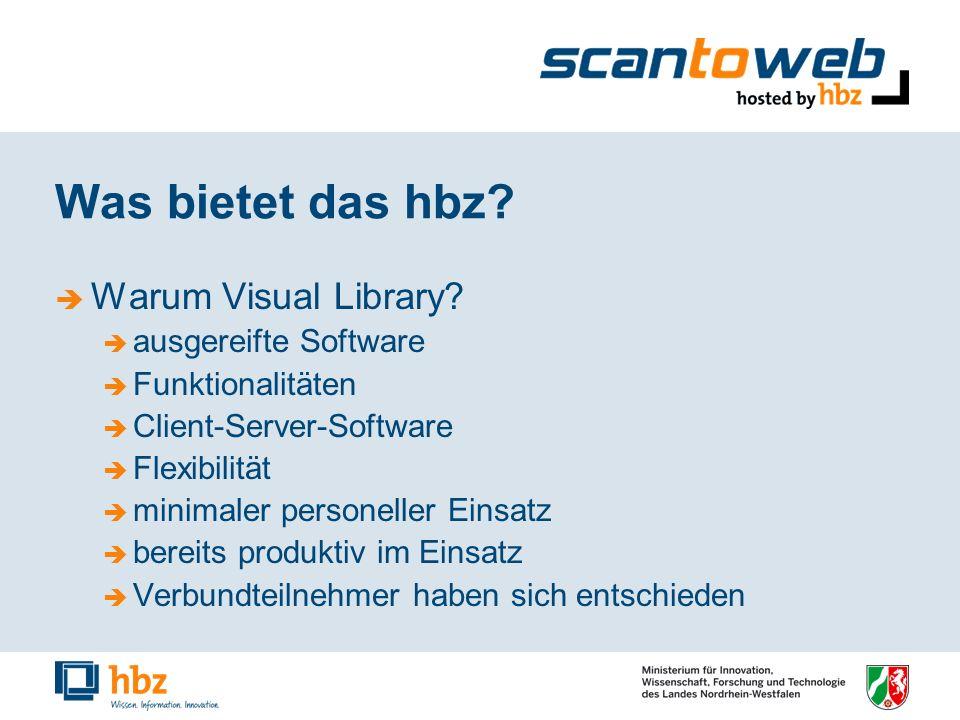 Was bietet das hbz. Warum Visual Library.
