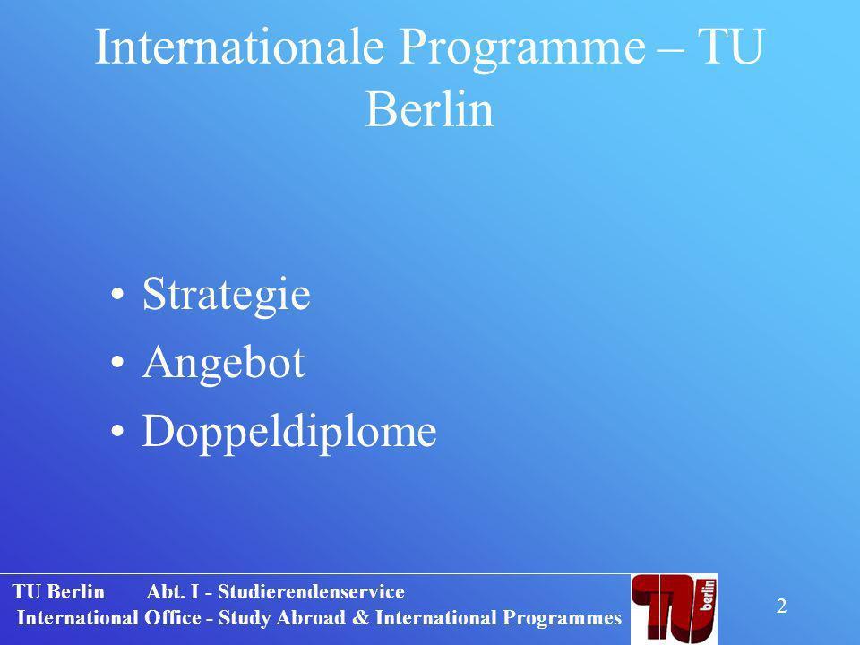 TU Berlin Abt.