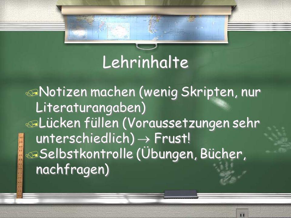 Bachelor-Master / Grundstudium (1.Jahr) -> wichtige allgemeine Grundlagen / Bachelor (2.