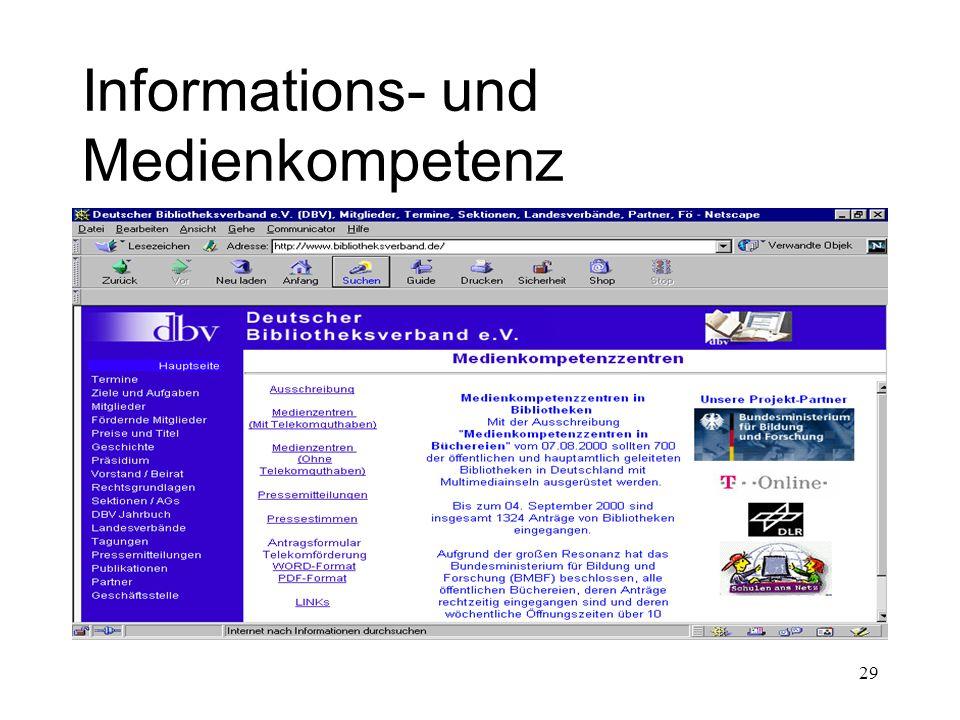 29 Informations- und Medienkompetenz