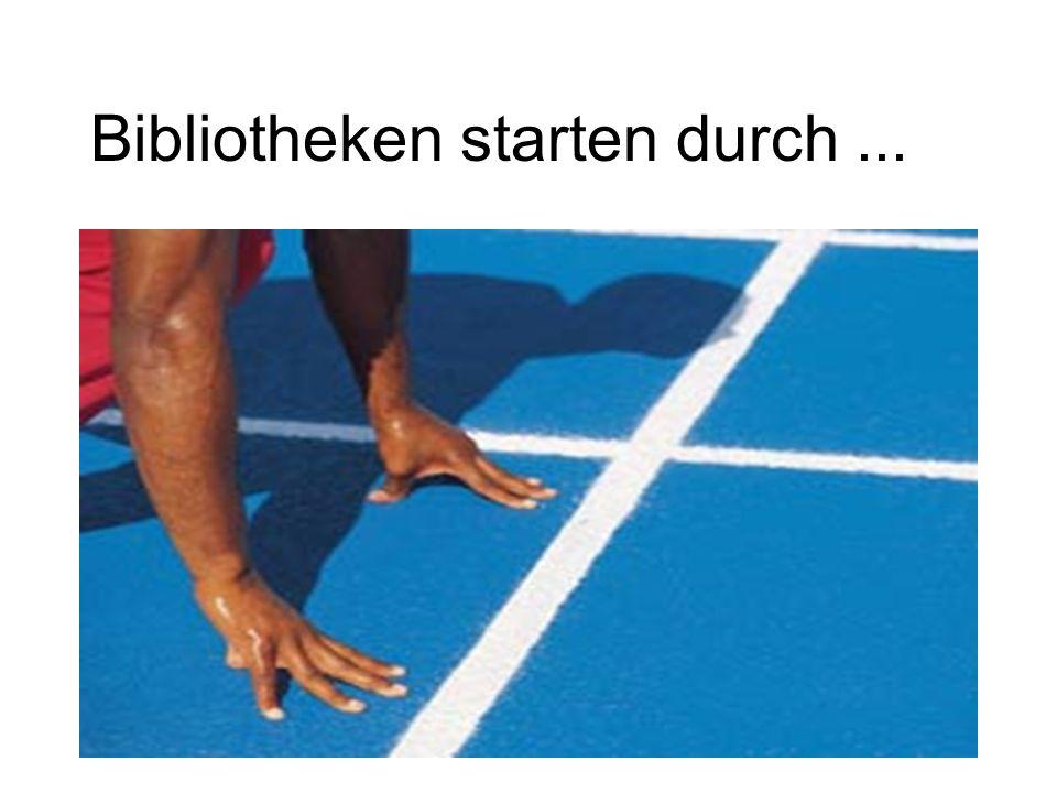 31 Bibliotheken starten durch...