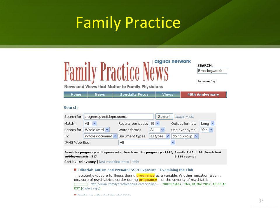 Family Practice 47