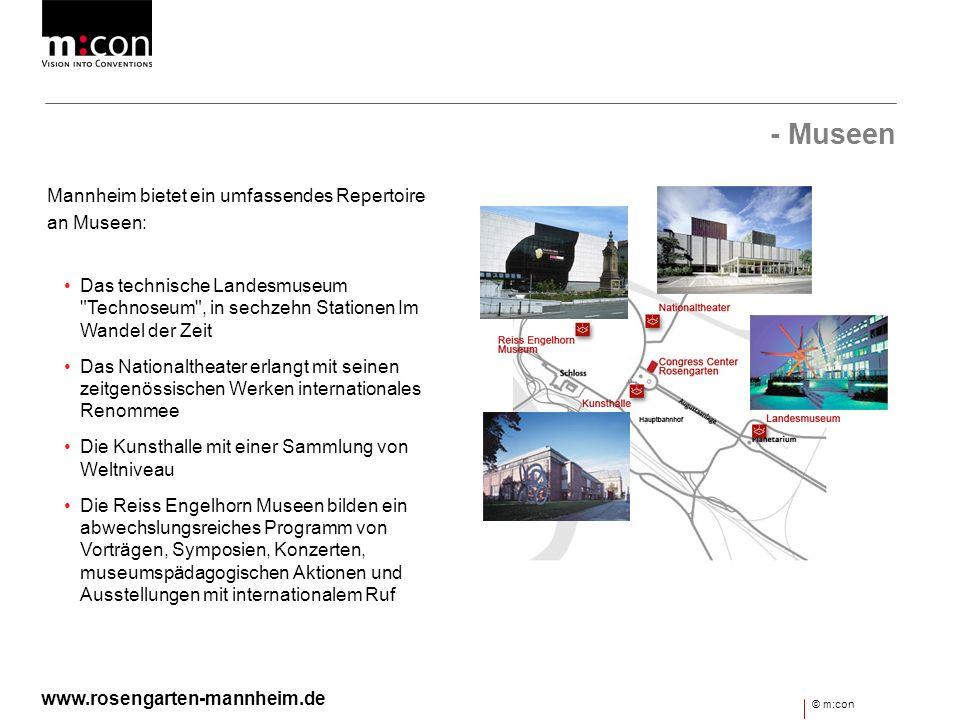 - Museen Mannheim bietet ein umfassendes Repertoire an Museen: Das technische Landesmuseum