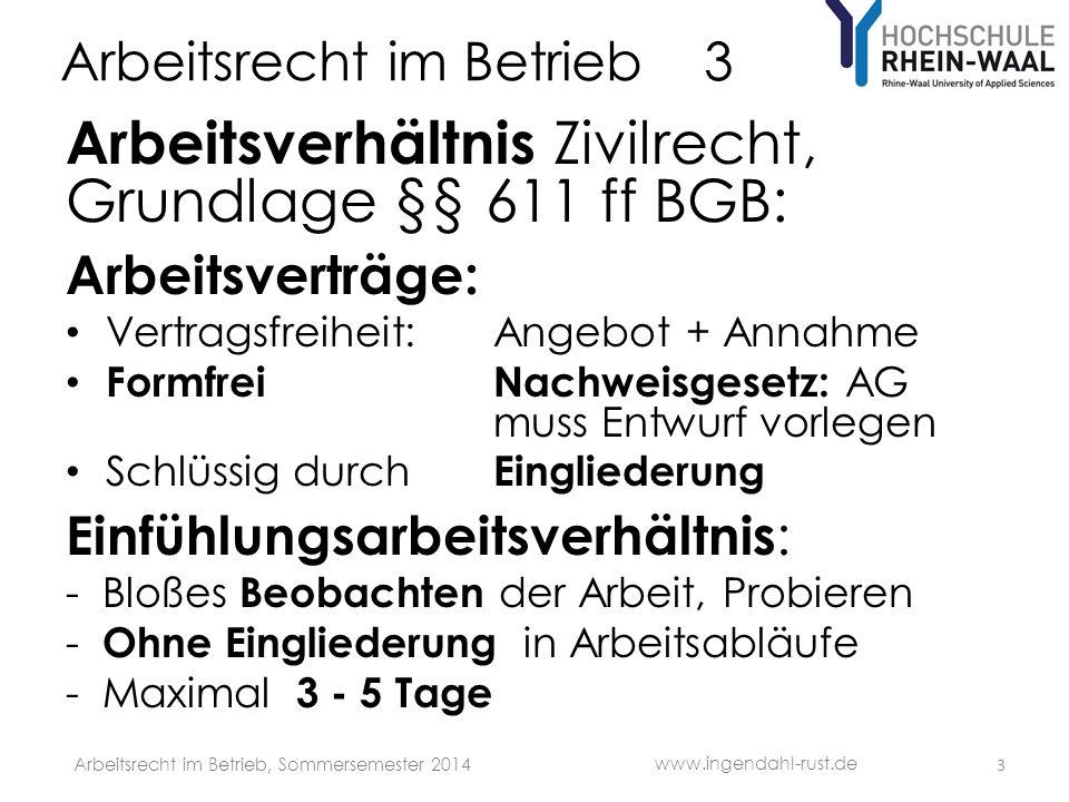 Arbeitsrecht im Betrieb 3 Dienst- und Arbeitsvertrag Vergütung, § 612 BGB: Ob: Gilt als stillschweigend vereinbart = Fiktion, wenn Vergütung üblich Höhe: Übliche Vergütung, insbes.