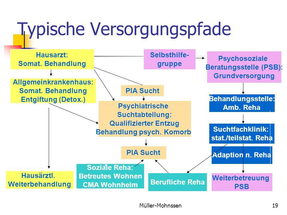 Müller-Mohnssen19 Typische Versorgungspfade Hausarzt: Somat.
