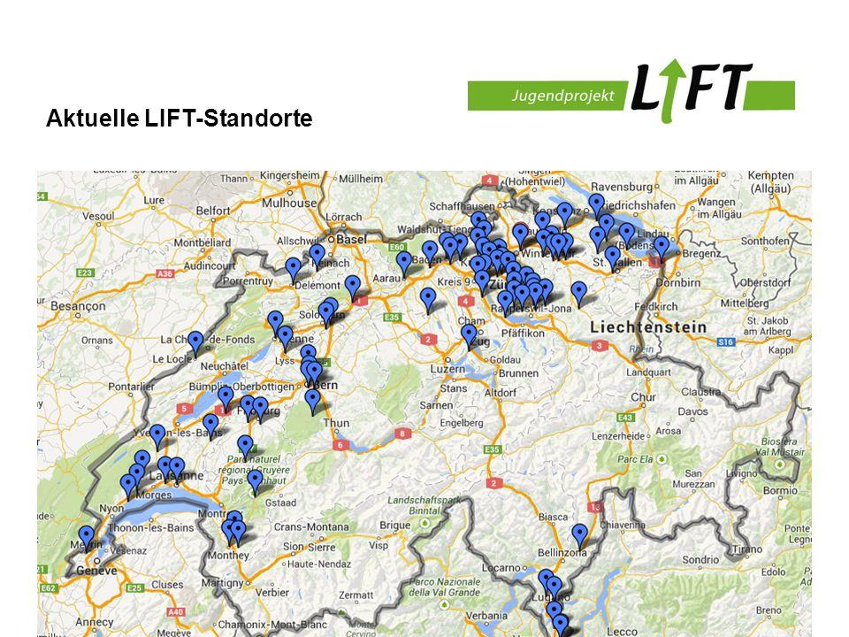 Aktuelle LIFT-Standorte