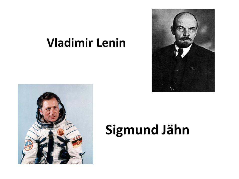 Sigmund Jähn Vladimir Lenin
