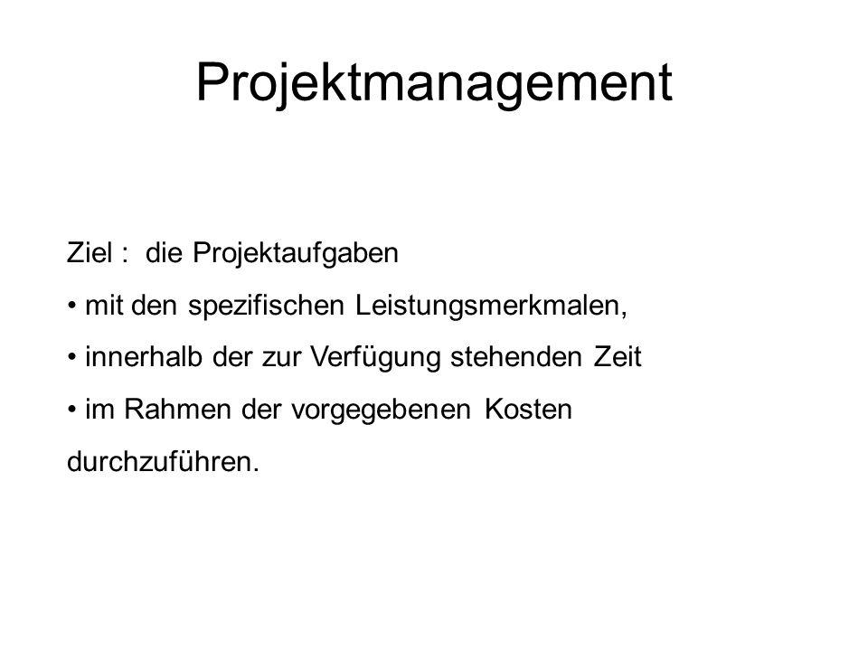 Projektmanagement N.b.