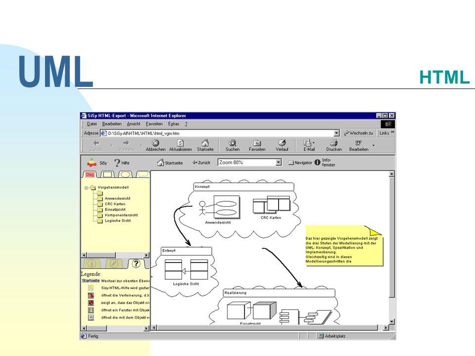 UML HTML