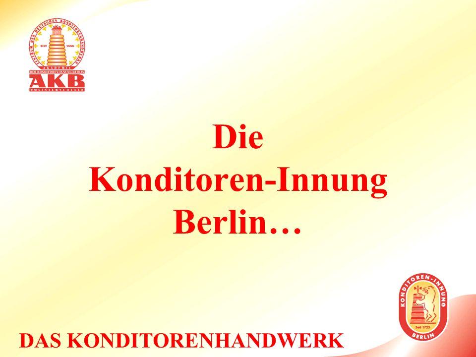 Die Konditoren-Innung Berlin…