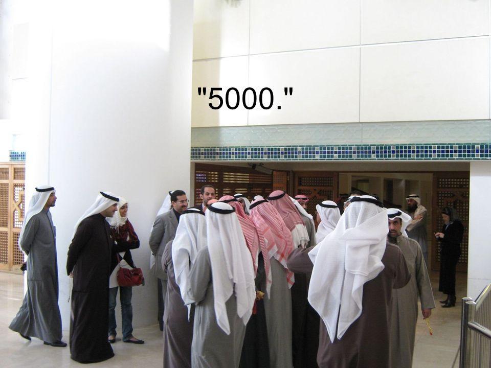 4000 , sagte der Islamist. Das ist mein letztes Angebot.