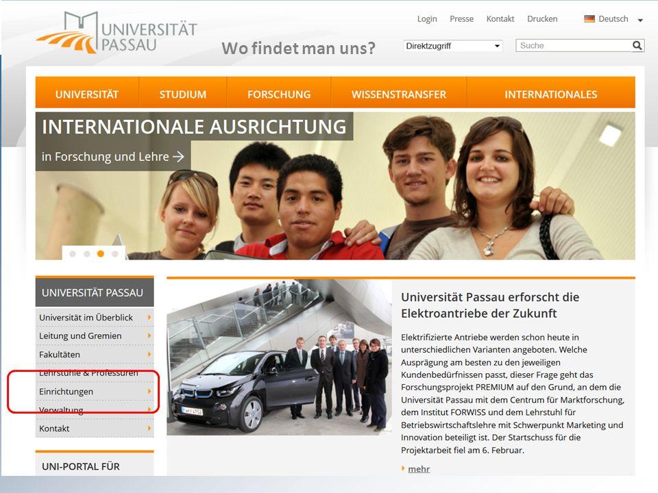 Wo sind wir? sprachenzentrum@uni-passau.de Wo findet man uns?