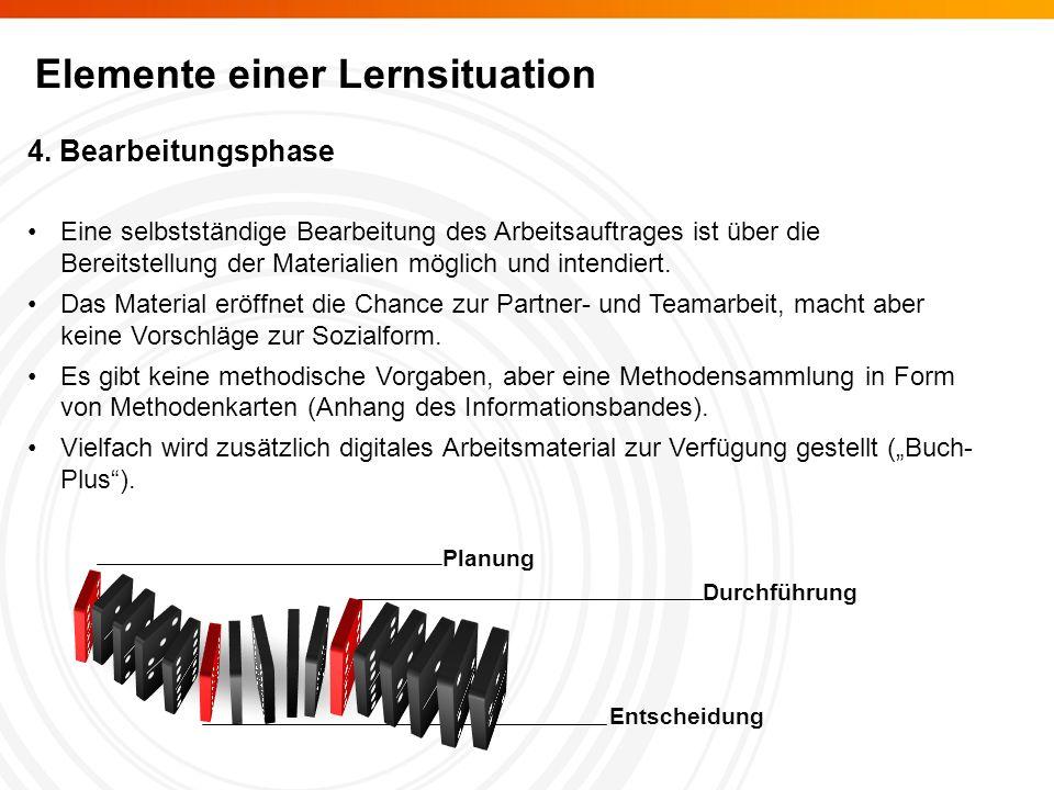 Elemente einer Lernsituation 4.