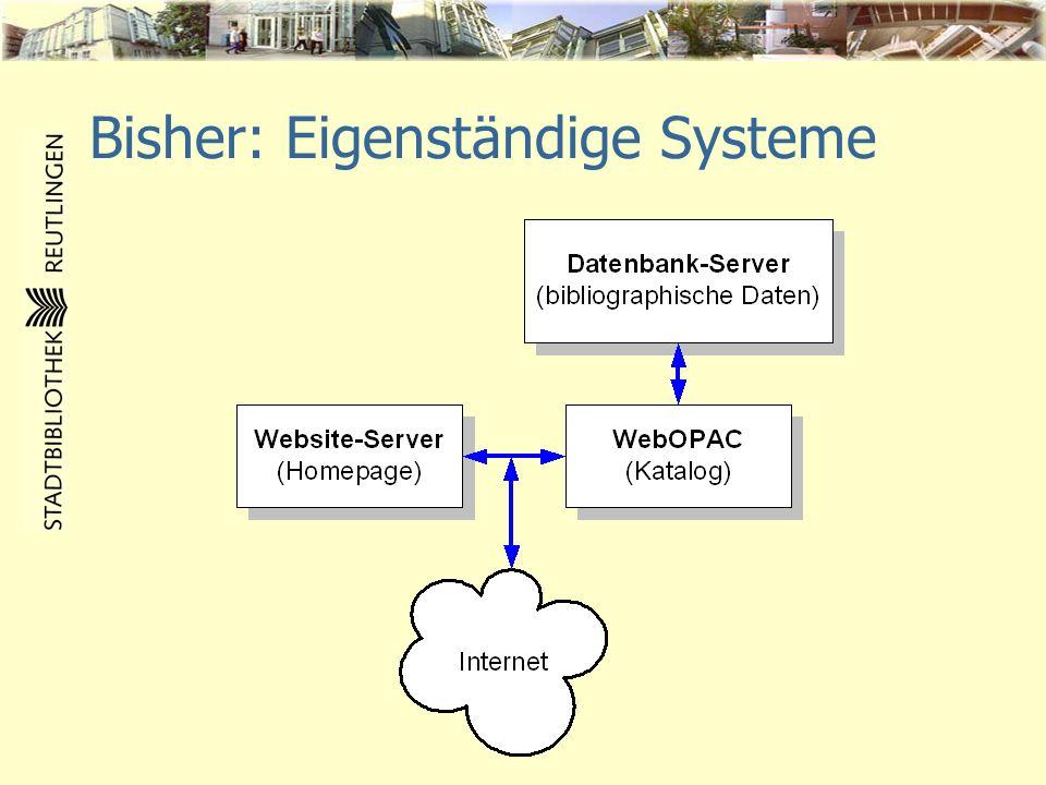 Jetzt: Integriertes System