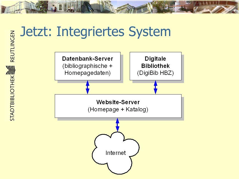 Homepage ab 2005 Überblick: Abteilung komplett Zielgruppen- spezifische Angebote Zielgruppen- spezifische Angebote