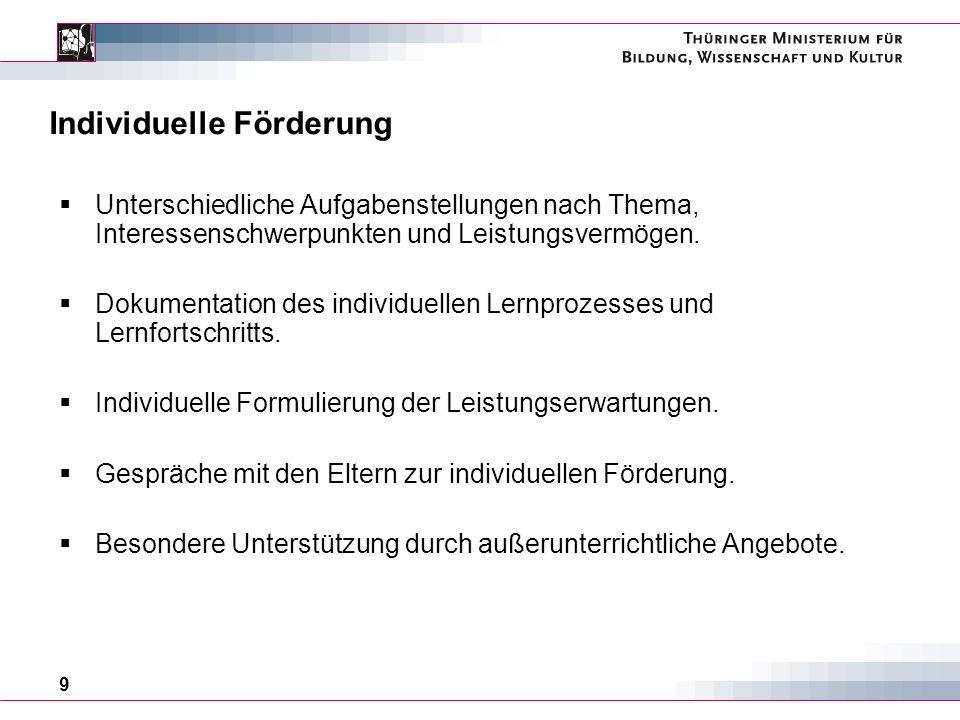 20 Thüringer Bildungsprogramm - nelecom … schafft geeignete Rahmenbedingungen für ein qualitativ hochwertiges ganztägiges Bildungs- und Betreuungsangebot an Thüringer Schulen.