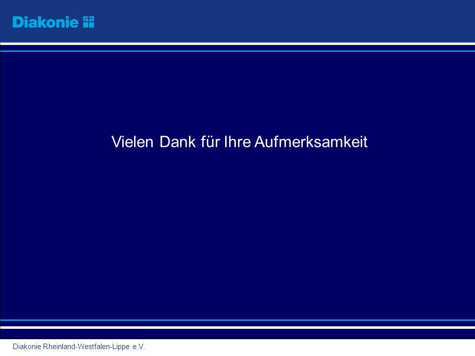 Diakonie Rheinland-Westfalen-Lippe e.V. Vielen Dank für Ihre Aufmerksamkeit.