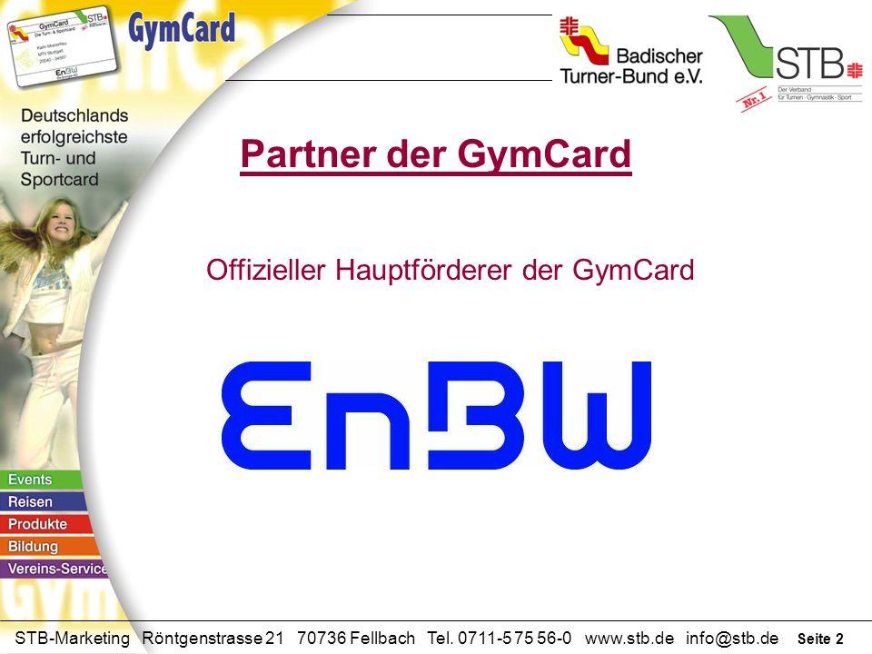 Seite 1 STB-Marketing Röntgenstrasse 21 70736 Fellbach Tel. 0711-5 75 56-0 www.stb.de info@stb.de