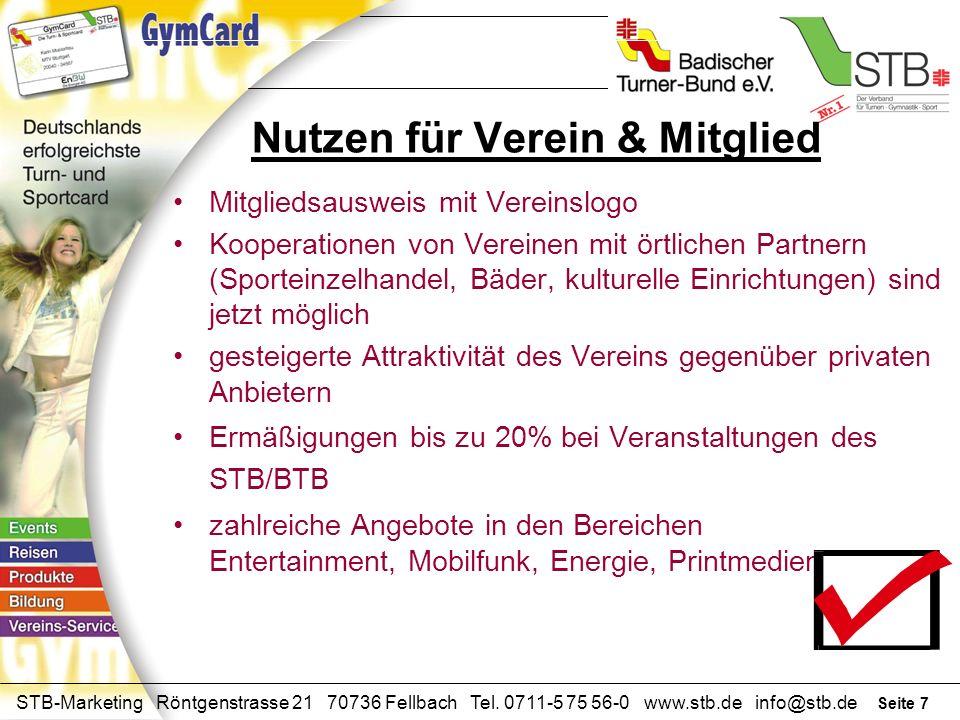 Seite 6 STB-Marketing Röntgenstrasse 21 70736 Fellbach Tel. 0711-5 75 56-0 www.stb.de info@stb.de Funktionen im Verein