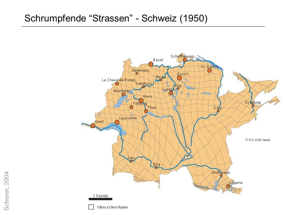 13 Schrumpfende Strassen - Schweiz (1950) Scherer, 2004