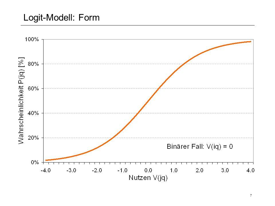 7 Logit-Modell: Form