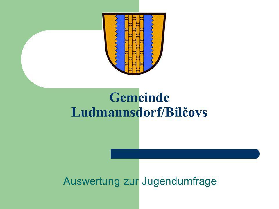 Gemeinde Ludmannsdorf/Bilčovs Auswertung zur Jugendumfrage