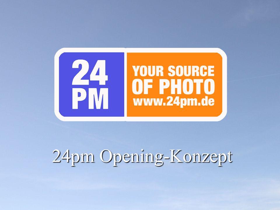 24pm Opening-Konzept