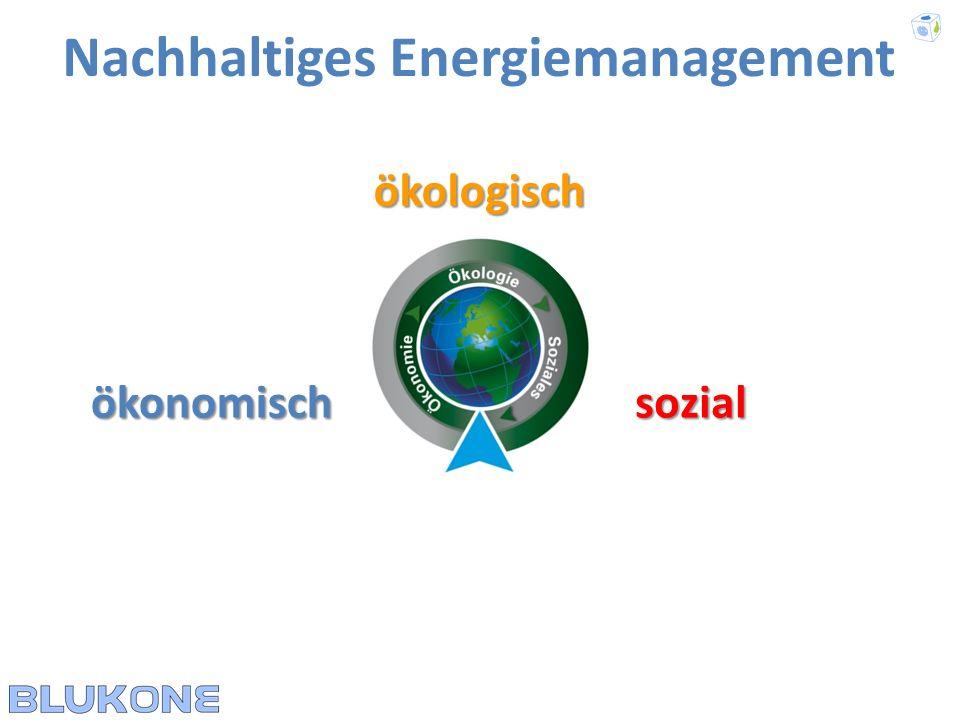 ökologisch Nachhaltiges Energiemanagement ökonomischsozial