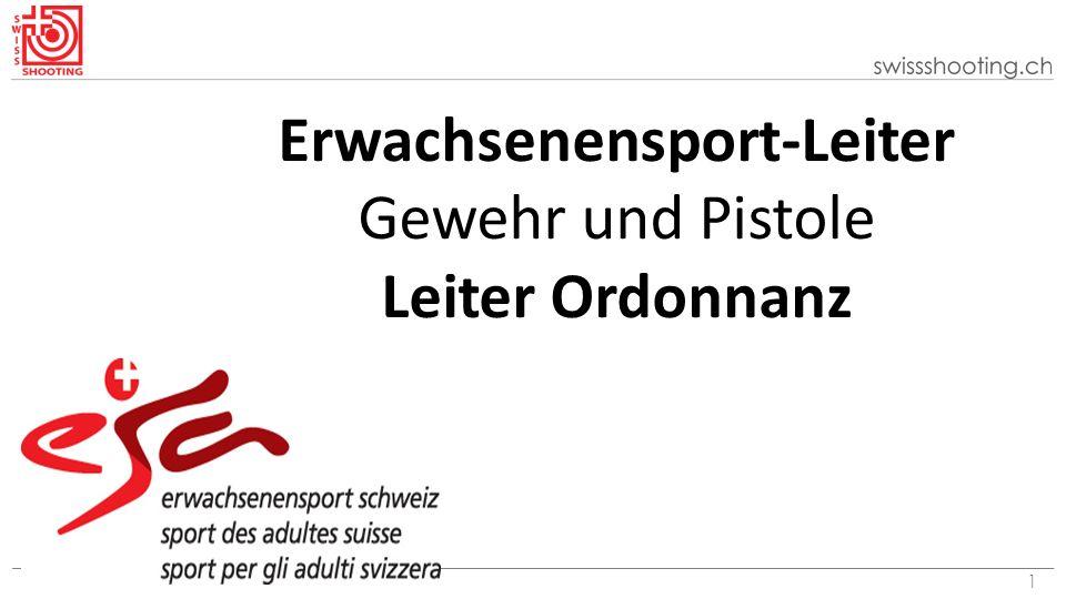2 Erwachsenensport Schweiz esa esa ist ein auf den Breiten- und Freizeitsport ausgerichtetes Sportförderprogramm des Bundes.