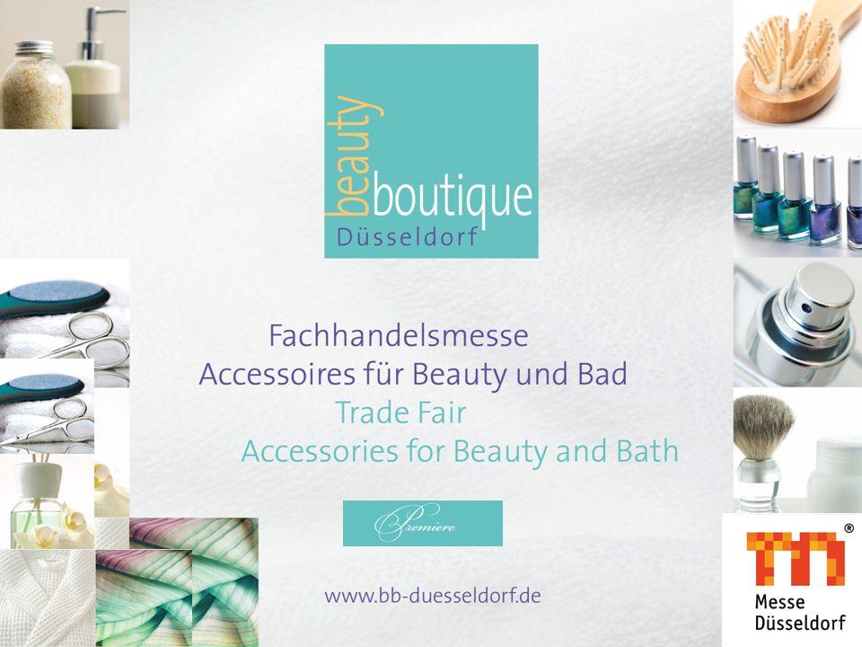 Kosmetik hat einen Standort Die Leitmessen der Profi-Kosmetik und Haarkosmetik finden erfolgreich in Düsseldorf statt.